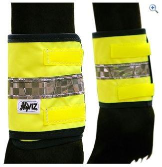 reflective leg bands - yellow (Gelb)