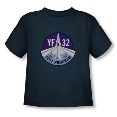Green Lantern - - Kleinkind Yf32 Test Program (Movie) T-Shirt In Navy, 2T, Navy (Test-kleinkind-t-shirt)