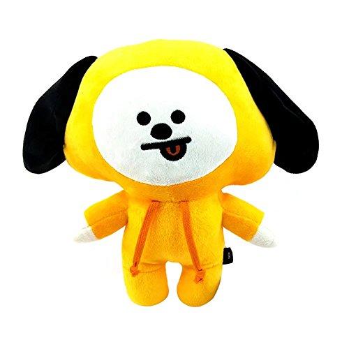(BTS Cartoon kuschelnKissen kuschelntier BTS Charakter Hund)