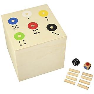 KULTSPIEL - Rot gewinnt / 6 gewinnt / AB IN DIE BOX - in der XXL BIG - Version 20x20x20cm