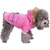 Rawdah_Mascota Ropa para Perros Peque?os Abrigos Camiseta Jerseyss Mascota Perro Gato Cachorro Invierno Ropa De Abrigo? Chaqueta De Traje Abrigo De Ropa