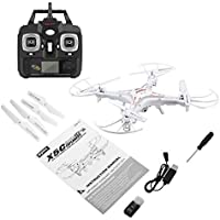 Price comparsion for Detectoy Syma X5C 2.4G 6-Axes Gyro RC Aircraft Quadcopter Drone UAV RTF UFO with 2MP HD Camera Wind Resistance Unmanned Aircraft
