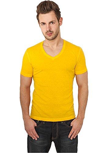 Urban Classics -  T-shirt - Maniche corte  - Uomo Giallo