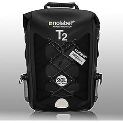 Sac à dos étanche – Sports Vélo Sac à dos T2 Transition Bag 20 litre Sac à bandoulière est 100% étanche. Sports Sac à dos pour cyclisme, course à pied, Triathlon et sports nautiques