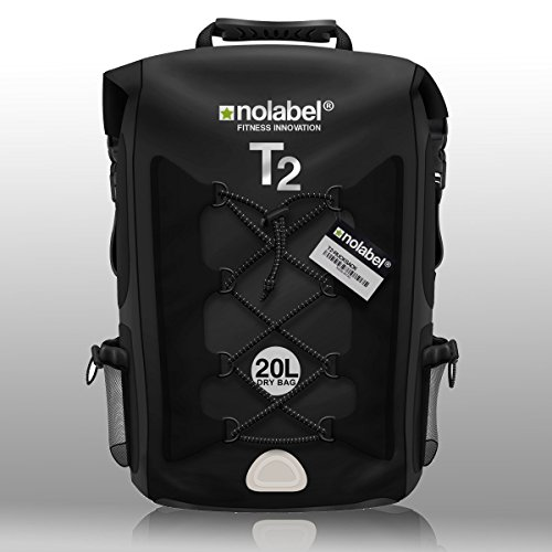 black-waterproof-rucksack-sports-bike-backpack-t2-transition-bag-20-litre-shoulder-bag-is-100-waterp