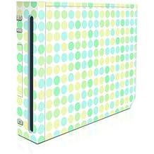 DecalGirl Nintendo Wii Skin Design Aufkleber Schutzfolie Sticker - Big Dots Mint