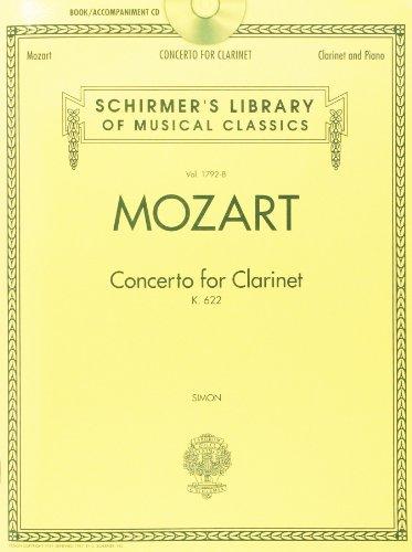 Concerto For Clarinet K.622 - Clarinet/Piano: Noten, CD für Klarinette, Klavier (Woodwind)
