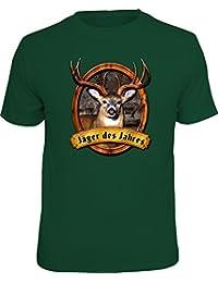 Original RAHMENLOS® Geschenk T-Shirt für den Jäger: Jäger des Jahres