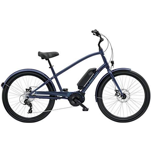 "Electra Townie GO! 8D E-Bike Herren Fahrrad 26\"" 250W Bosch Motor 8 Gang Elektrisch 25km/h, 5684Mens, Design Poseidon Blue - Blau"
