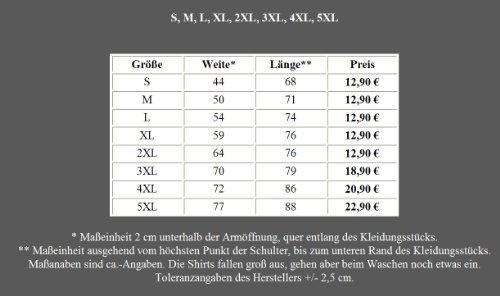 Chuck Norris - FUCK YOU - T Shirt - schwarz - S bis 5XL - 075 Schwarz