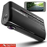 Thinkware F770Full HD 1080p Dash Cam 16GB con Wi-Fi, super Night Vision, GPS, applicazioni mobile, Sony Exmor CMOS sensor, sistema di sicurezza fotocamera avvisi, Avvertenza di sicurezza stradale, termica autodifesa, fail-safe Technology, Dual Save Technology accendisigari e cavo