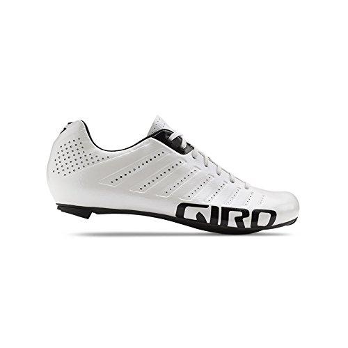 Giro Empire SLX Rennrad Fahrrad Schuhe weiß/schwarz 2019: Größe: 43