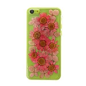 Claire's Fille-fleurs séchées Coque pour Iphone 5C Rose
