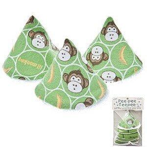 Pee-pee Teepee Baby Boy Lil Monkey in Cellophane Bag Boy Diaper Bag Weewee Change by Beba Bean Inc. (English Manual) (Beba Bean)