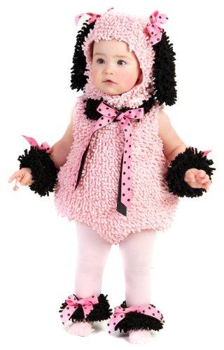 BUYSEASONS-Costume da coccinella per bambino, motivo: barboncino