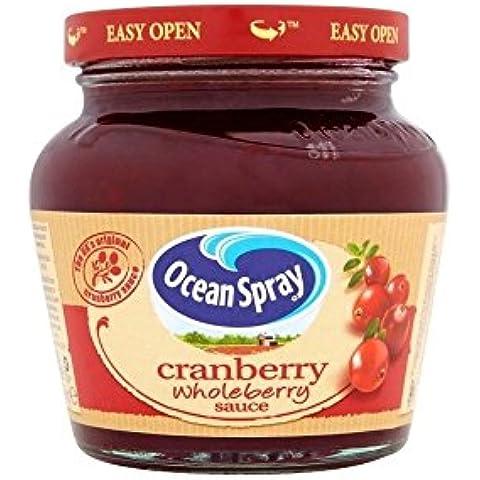 Ocean Spray Salsa De Arándano Wholeberry (250g) (Paquete de 2)