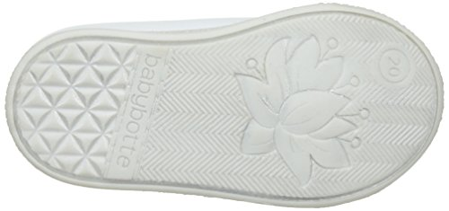 babybotte - Aiclair, Pantofole a Stivaletto Bambina Blanc (Blanc Glitter)