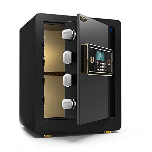 RKY Sicherheitsschrank, Smart Home Fingerabdruck Passwort kleine Ganzstahl-Flachtür Anti-Storage-Safe, geeignet für: Büro/zu Hause/Finanzen, 3 Farben und 2 Farben optional Schranksafes / - /