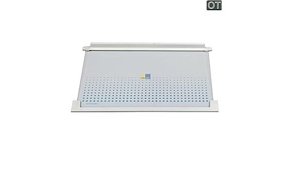 Abstellplatte 475x315mm  für Kühlschrank 225137453 AEG Electrolux Glasplatte
