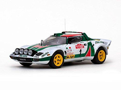 sunstar-4530-lancia-stratos-hf-2nd-rallye-san-remo-1976-echelle-1-18-blanc-vert