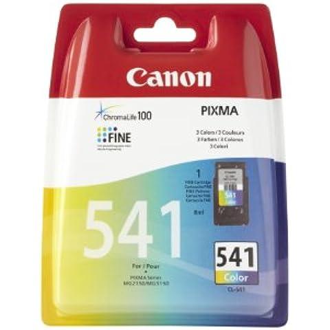 Canon CL-541 - Cartucho de tinta para impresora, multicolor (amarillo, cyan y magneta)