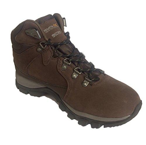 Regatta-Great-Outdoors-WomensLadies-Borderline-Waterproof-Lace-Up-Walking-Boots-UK-5-PeatWalnut
