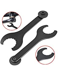 Malayas® Llave Removedor de Pedalier Herramientas de Reparación Accesorios para Bicicletas Bicicletas de Montaña MTB Shimano Hollowtech II