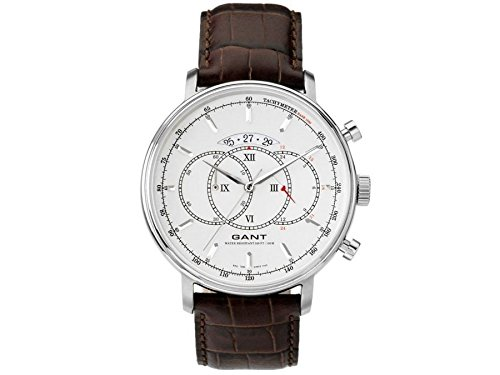 Gant men's Quartz Watch Analogue Display and Leather Strap W10892