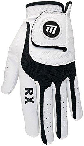 Masters Damen Protective RX Ultimativ Wetter Dauerhaft LH Golfhandschuh weiß - Weiß, Medium (Golf-masters-patch)