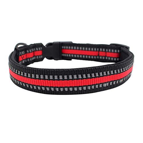 CAOQAO CAOAO Hundehalsband verstellbare Halskette, Schnellverschluss Halskette weiche Faltkragenband - ideale Größe für Halsketten für Katzen oder kleine Hunde, 3 Farben