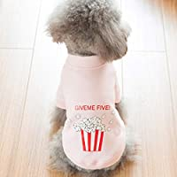 CXQ Small Dog Cotton Coat Than Bear Teddy Pink Sweater Lovers Pet Dog Autumn And Winter Clothing (Size : XXl)