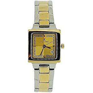 Oskar Emil Belarus Ladies 4 Diamond 2 Tone Stainless Steel Watch Limited