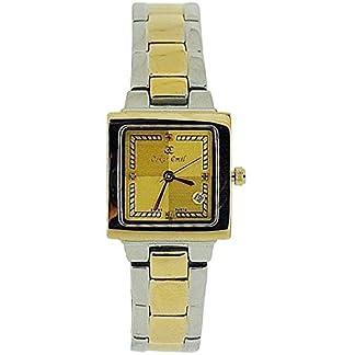 Oskar Emil Belarus Ladies 4 Diamond 2 Tone Stainless Steel Watch Limited Edition