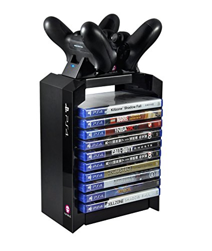 PS4 GAMES TOWER + LADESTATION EU Version offiziell Playstation Lizensiert