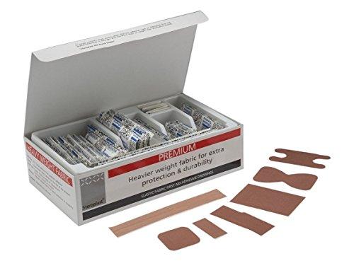 sterostrip Steroplast hochwertige elastische Pflaster, Stoffpflaster 7Größen–100Stück sortiert