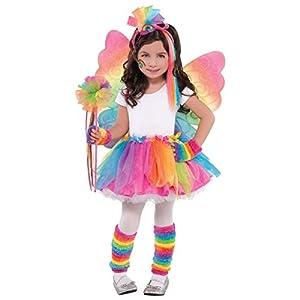Amscan Internacional - Alas de hadas de colores del arco iris para niños.