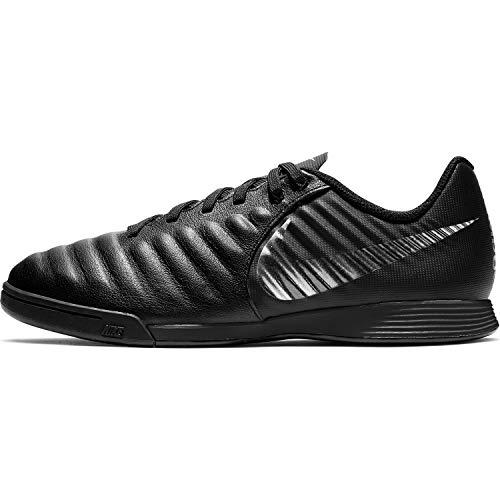 Nike Unisex-Kinder Tiempo LegendX VII Academy Indoor Fußballschuhe, schwarz, 38 EU