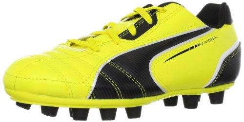 Puma Universal FG Jr 102701, Unisex-Kinder Fußballschuhe, Gelb (blazing yellow-black-whit 01), EU 38.5 (UK 5.5) (US 6.5) (Puma-fußball-rasen-schuhe)
