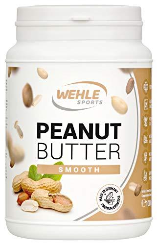 Burro di arachidi senza zucchero senza additivi, sale, olio o olio di palma, 1000g (1kg) (Smooth - Cremoso)