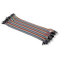 LEORX Multicolore 30cm 40 pin Breadboard ponticelli fili Kit cavi