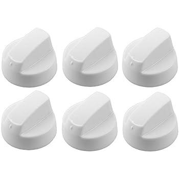 four et plaque de cuisson boutons de contrôle blanc 4 x universal bosch cuisinière
