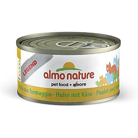 Umido Gatto Almo Nature gr70, Pollo con Formaggio