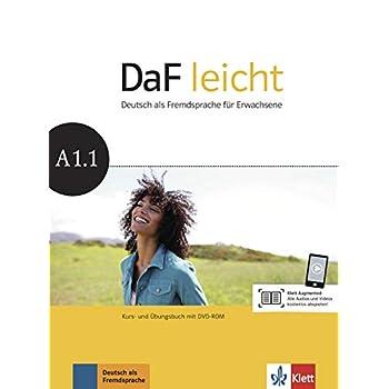 DaF leicht A1.1 : Kurs- und Übungsbuch (1Cédérom)