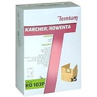 Temium 599392031 Sac d'aspirateur pour 105 m 12):