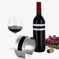 DescriptionMontre la température de votre vin, marque également la meilleure température de service pour différents types de vin.Pas besoin de piles.Avec grand écran LCD, facile à lire les chiffres multicolores.Simplement aimanté sur la bouteille et ...