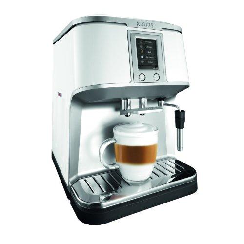 Krups EA 8421 Kaffee-Vollautomat (1.7 l, 15 bar, externes Milchsystem, Touchscreen-Farbdisplay)