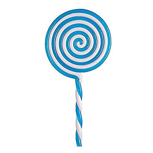 Lollipop Blau Weiß (Zweifarbiger Lolli