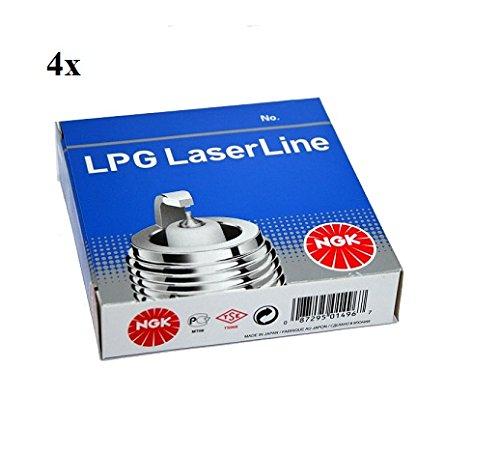 Preisvergleich Produktbild 4x NGK Zündkerze 1496 LPG1 LPG LaserLine 1 für LPG / CNG Gasbetrieb Flüssiggas