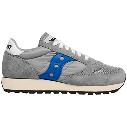 the latest 0efde 9ec4a Saucony Men s Jazz Original Vintage Low-Top Sneakers, (Grey Blue 72)