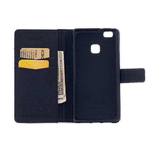 CareyNoce Apple 5C Coque,Flip Housse Etui Cuir PU Coque pour Apple iPhone 5C (4.0 pouces) -- DON'T TOUCH MY PHONE Live Your Gream